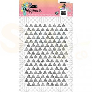 STAMPCR348, StudioLight, Clearstempel, Create Happiness nr. 348