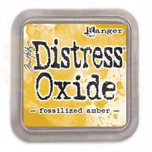 Distress oxide ink fossilized amber TDO55983