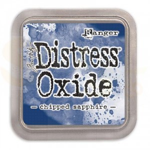 Distress oxide ink Chipped Sapphire TDO55884