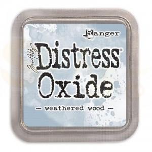 Ranger Distress oxide inkpad Weathered Wood TDO56331