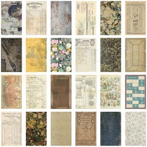 Idea-ology, Backdrops double-sided cardstock 6x10 inch TH94118