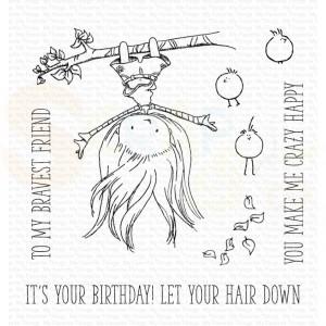 TI-002 + MFT-2024 My Favorite Things stamp&die, Let your hair down