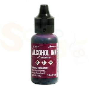 Ranger Alcohol Ink 15 ml, cranberry TIM21995