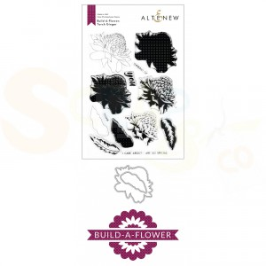 Altenew, build-a-flower Torch Ginger (stempel + stans) ALT3977