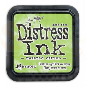 Distress mini ink pad Twisted Citron