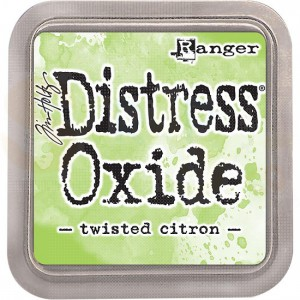Distress oxide ink twisted citron TDO56294