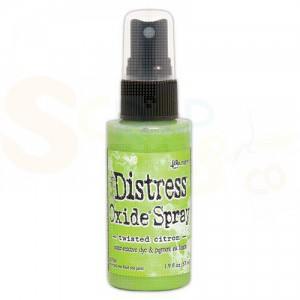 Ranger Distress Oxide Spray, twisted citron TSO67955