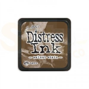 Distress mini ink pad Walnut Stain TIM19534