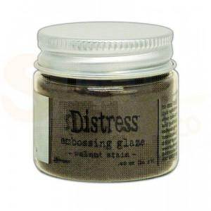 Ranger Distress Embossing Glaze, Walnut Stain TDE71044