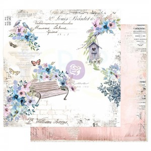 Prima Marketing, Watercolor Floral 849801, Watercolor cards