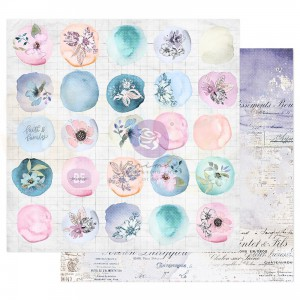 Prima Marketing, Watercolor Floral 849788. Watercolor drops