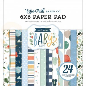 Echo Park Paper, Welcome Boy Paperpad 6x6 WBB234023