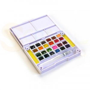 Elizabeth Craft Designs, Water Color Palette 24 colors WC01