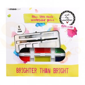 StudioLight, art by Marlene - watercolor set Metallic  nr. 04 WCBM04