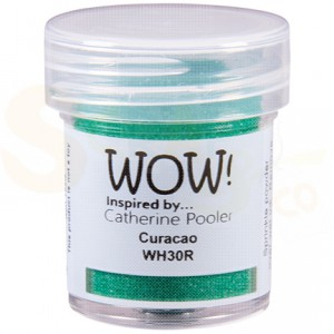 WOW! embossing powder, Curacao WH30R