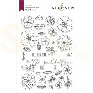Altenew, clearstamp Wild and Free ALT4216