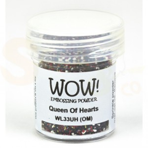 WOW! embossing powder, colour blends - Queen of Hearts, WL33UH