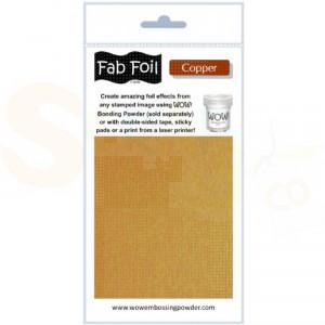 WOW fab foil, bright copper, W216-COP30