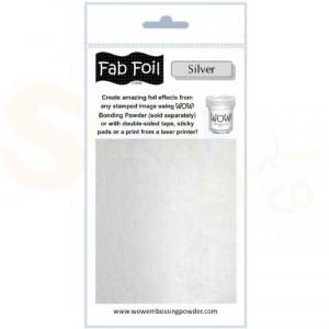 WOW fab foil, bright silver, W216-S01