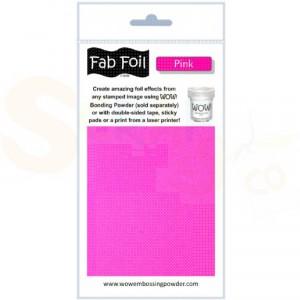 WOW fab foil, pink, W216-PK52