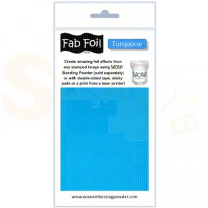 WOW fab foil, turqoise, W216-TU70