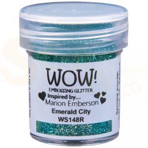WOW! embossing powder, Emerald city WS148R