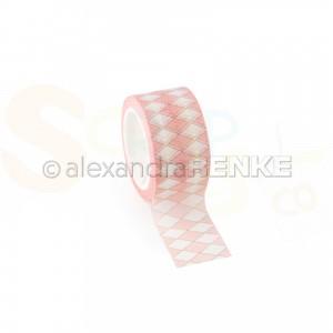 Alexandra Renke, washitape Rhombus Pale pink, Wt-AR-MU0041