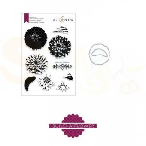 Altenew, build-a-flower Zinnia (stempel + stans) ALT2658